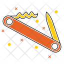 Adventure Camping Equipment Icon