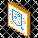 Pocket Pins Isometric Icon