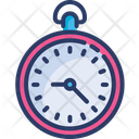 Clock Pocket Time Icon
