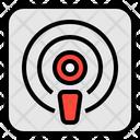 Podcast Audio Media Icon