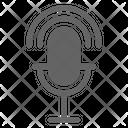 Podcast Radio Broadcasting Icon