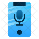 Podcast Mobile Promotion Icon