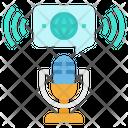 Podcast Symbol Transmission Icon