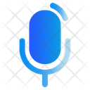Podcast Microphone Broadcasting Icon