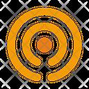 Broadcast Communication Signal Icon