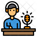 Blogger Content Podcast Icon