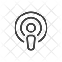 Podcast Radio Sound Icon