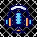 Microphone Audio Headphones Icon