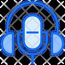 Podcast Singing Radio Icon