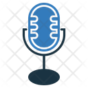 Podcast Microphone Voice Icon