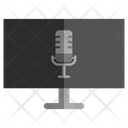 Podcast On Tv Tv Television Icon