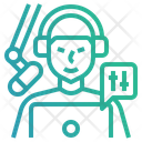 Podcast Producer Icon