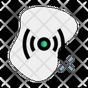 Podcast Signal Broadcasting Sound Icon