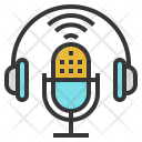 Podcasting Icon