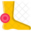 Podiatry Pain Leg Icon