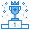 Reward Podium Business Winner Icon