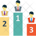 Podium Leaderboards Prize Stage Icon