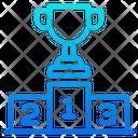 Podium Prize Award Icon