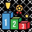 Podium Rank Score Icon