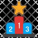 Podium Achievement Champion Icon