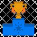 Podium Positioning Winner Podium Icon
