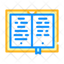 Poetry Book Color Icon