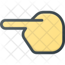 Point Left Show Icon