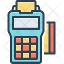 Point Of Service Card Payment Card Swap Icon