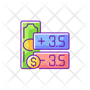 Spread Point Betting Icon