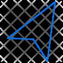 Arrow Left Up Icon
