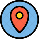 Pointer Location Pin Marker Icon