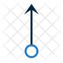 Pointer Uparrow Pointers Icon