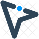 Sign Arrow Email Icon