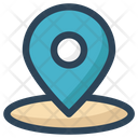 Location Gps Map Pin Icon
