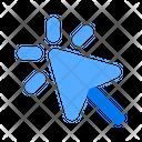 Pointer Click Cursor Icon