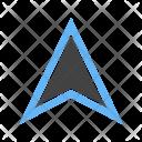 Pointer Location Pin Icon