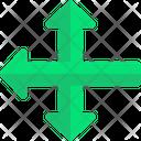 Pointing Arrows Gps Symbols Icon