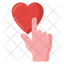 Pointing Love Finger Pointing Heart Pointing Icon