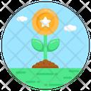 Points Growth Loyalty Growth Rewards Icon