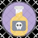 Poison Liquid Bottle Dangerous Poison Icon