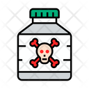 Poison Danger Drug Icon
