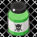 Poison Deadly Liquid Poison Bottle Icon
