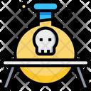 Poison Danger Halloween Icon