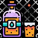 Glass Poison Liquid Icon