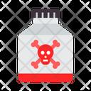 Poison Danger Toxic Icon