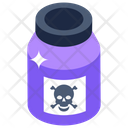 Poison Potion Bottle Toxic Bottle Icon