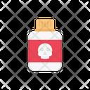 Poison Danger Bottle Icon