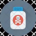 Poison Danger Chemical Icon