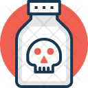 Suicide Death Poison Icon