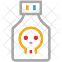Poison Warning Death Icon